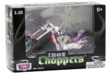 Model motorky Chopper 15cm
