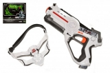Territory laser game - single set (1 pistole, 1 maska)