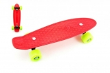 Skateboard pennyboard plast 43 cm red