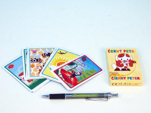 Fotografie Černý Petr společenská hra karty v papírové krabičce