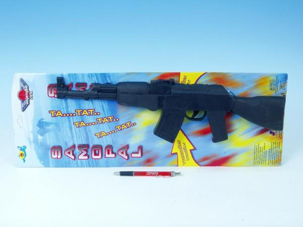 Samopal AK-47 zvuk 47cm