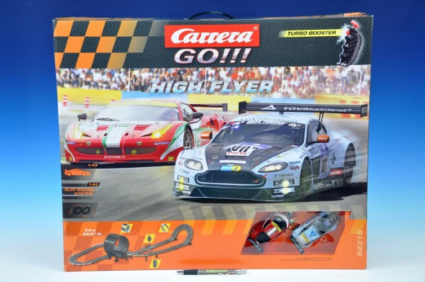 Autodráha Carrera GO !!! High Flyer 7,4m