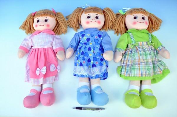 Hadrová panenka holka 50 cm