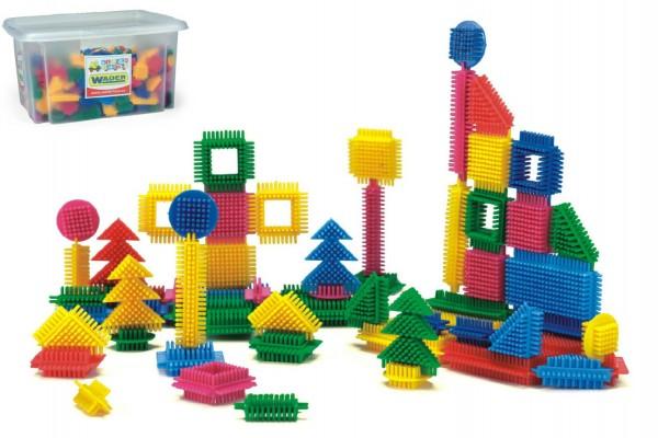 Wader stavebnice - Ježci 500 dílků