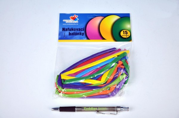 Balónky nafukovací 15 ks