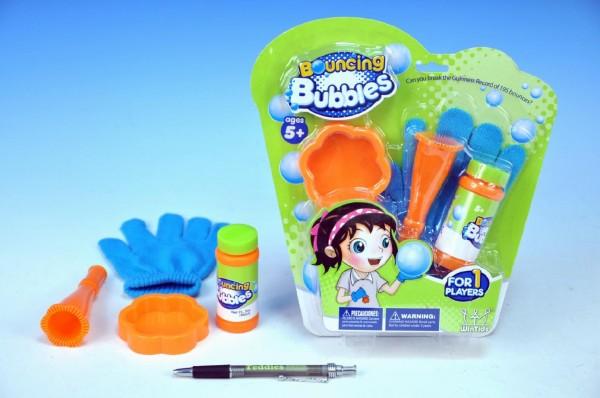 Bublifuk set - skákající bubliny s rukavicí