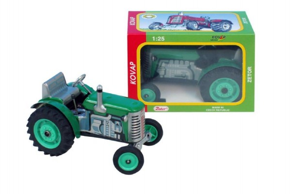 KOVAP Traktor Zetor 1:25 na klíček