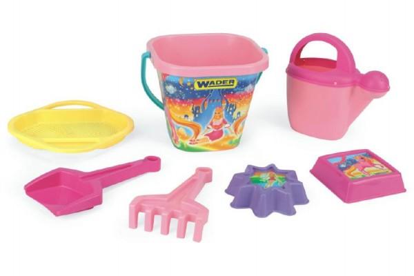 Sada hraček na písek Wader pro dívky 7ks