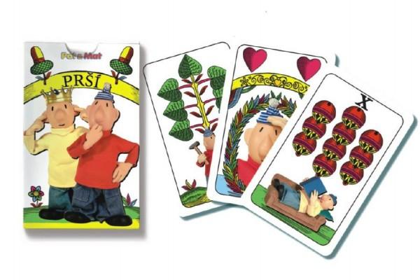 Prší - karty dětské Pat a Mat