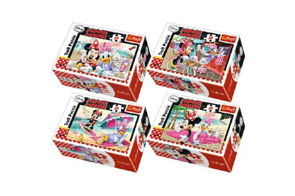 Mini puzzle Minnie a Daisy 54 ks