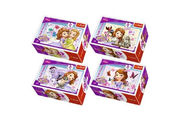Mini puzzle Princezna Sofie 54 ks