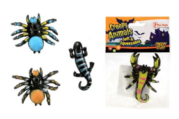 Sliz - hmota pavouk 6 cm