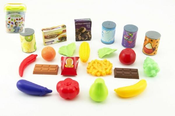 Plastové potraviny dětské v boxu