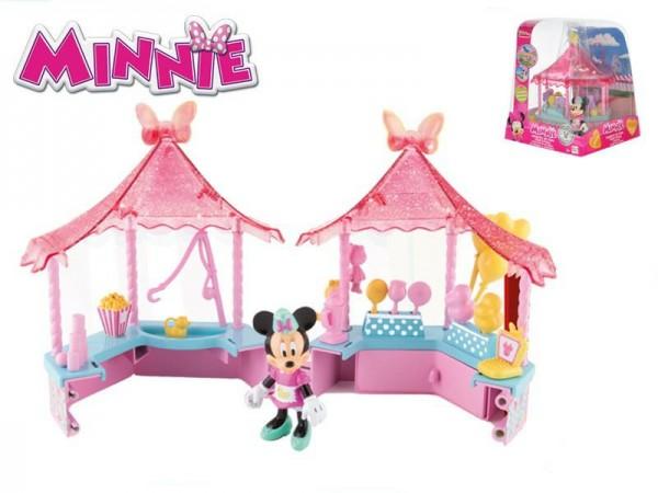 Fotografie Minnie figurka plast 8cm se stánkem 14x14cm
