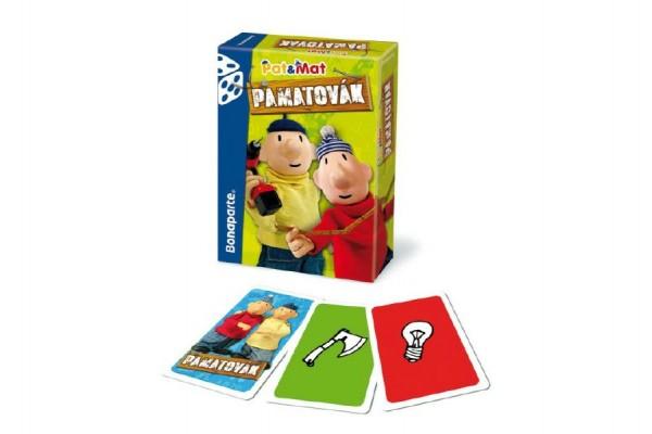 Pamatovák Pat a Mat karetní hra