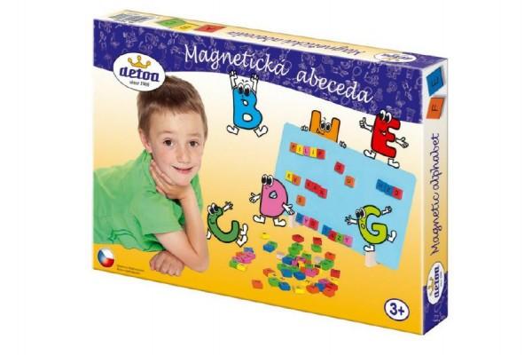Magnetická hra Detoa - Abeceda 75 ks