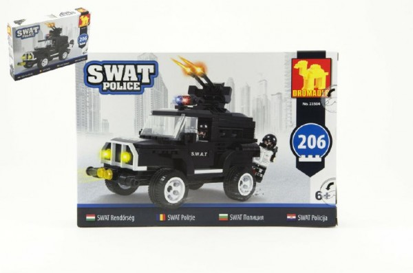 Stavebnice Dromader - SWAT Auto 206ks