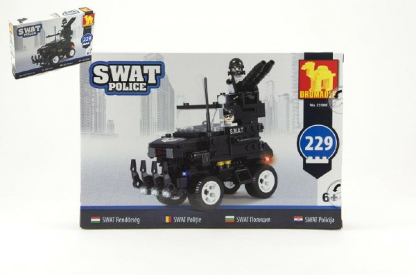 Stavebnice Dromader - SWAT Auto 229ks