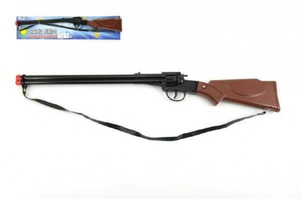 Kapslovka puška kov/plast 65 cm