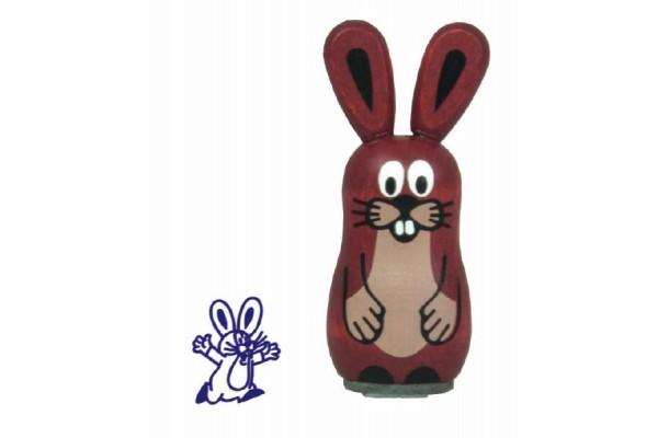 Razítko dřevěné Krteček - Zajíc 5cm