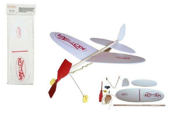 Letadlo házecí pěnové model Komár 39 cm