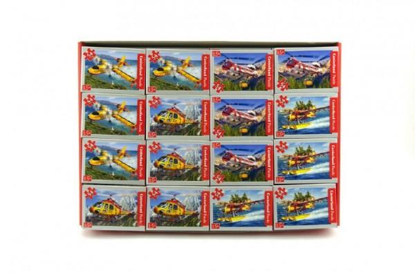 Mini puzzle Letadla 54ks