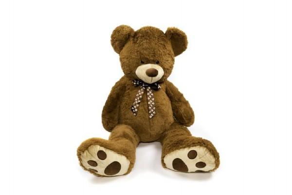 Medvěd plyšový hnědý 130 cm