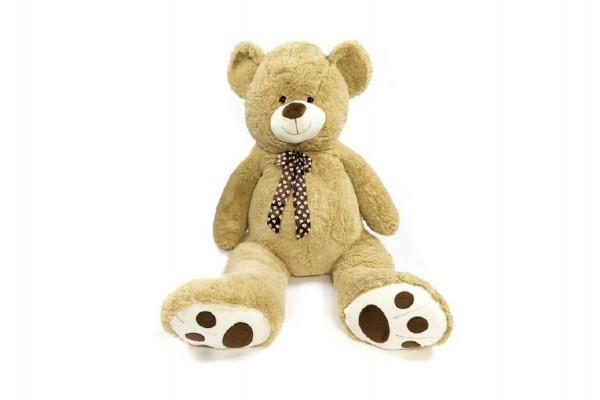 Medvěd plyšový béžový 130 cm