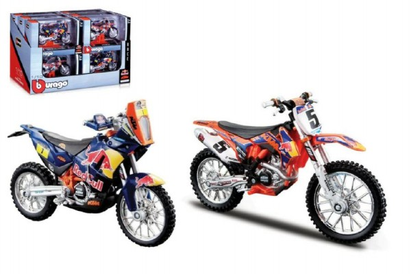 Bburago Red Bull model motorky plast 11cm
