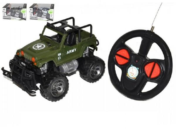RC auto Jeep velká kola 17 cm