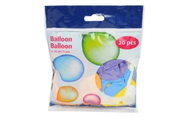 Balónek nafukovací 23cm 20 kusů