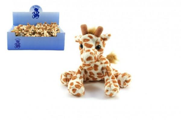 Žirafa plyšová 14 cm