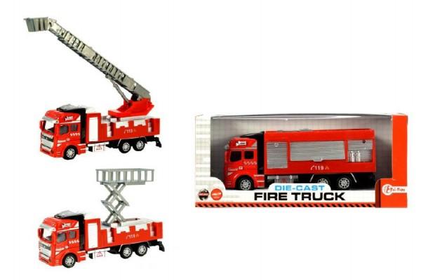 Model hasičské auto kov/plast 21 cm