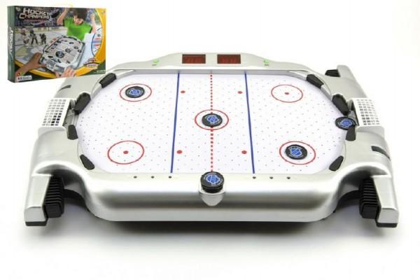 Stolní hokej plast 51x35x9 cm zvuk a světlo