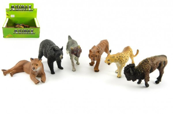 Fotografie Zvířátka safari plastová 10 cm