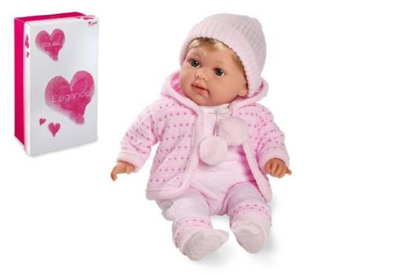 Arias panenka miminko Elian 42 cm růžové