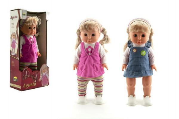 Panenka miminko Agusia 40 cm chodící a zpívající
