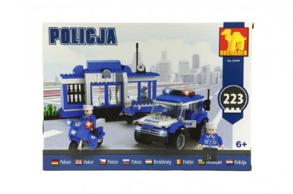 Dromader - Policie Stanice+auto+motorka