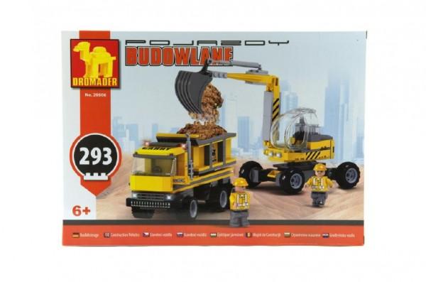 Dromader - Stavba 29506 bagr + nákladní auto