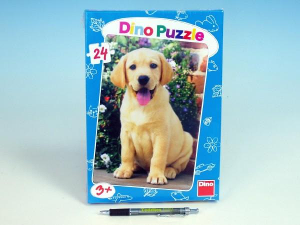 Puzzle Labrador štěně