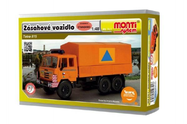 Monti systém 74.1 - Tatra 815 zásahové vozidlo