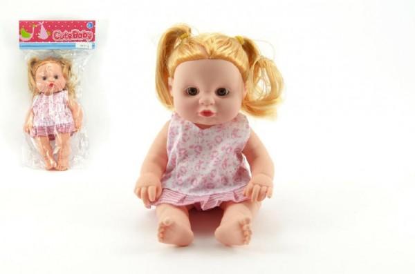 Miminko holčička plast 23 cm