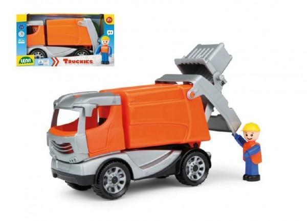 LENA Popelářský vůz plastový Truckies 25cm