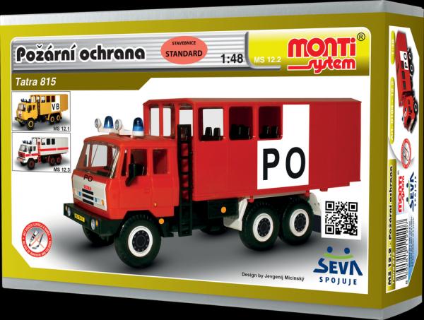 Monti systém 12.1 Tatra 815 PO Požární ochrana