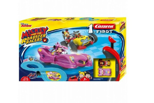 Autodráha Carrera First Mickey Racers 2,4 m
