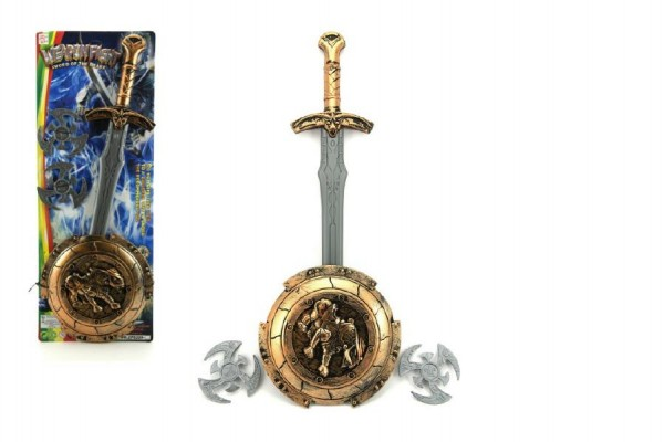 Rytířská sada dětská meče a štítu s doplńky