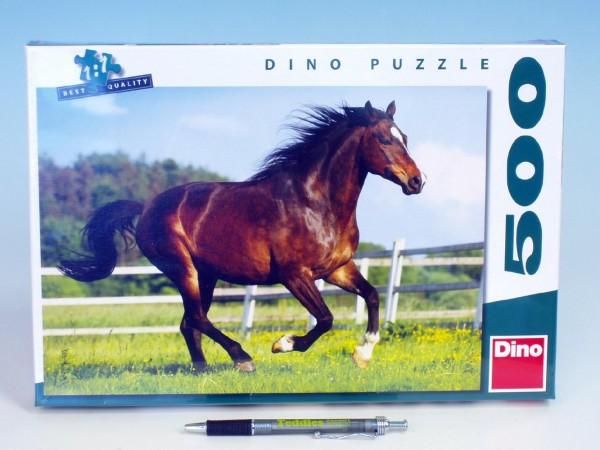 Puzzle 500 ks Kůň ve výběhu