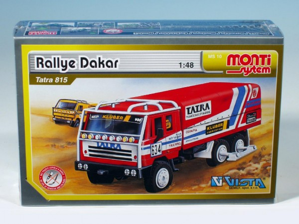 Monti systém 10 - Rallye Dakar-Tatra 815