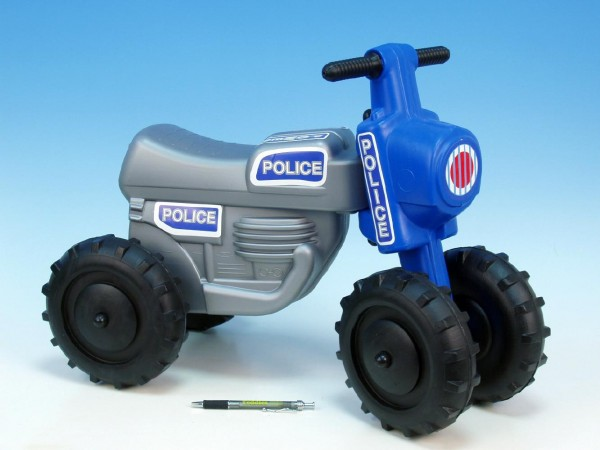 Odrážedlo CROSS Policie silver