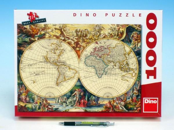 Puzzle 1000 ks Historická mapa
